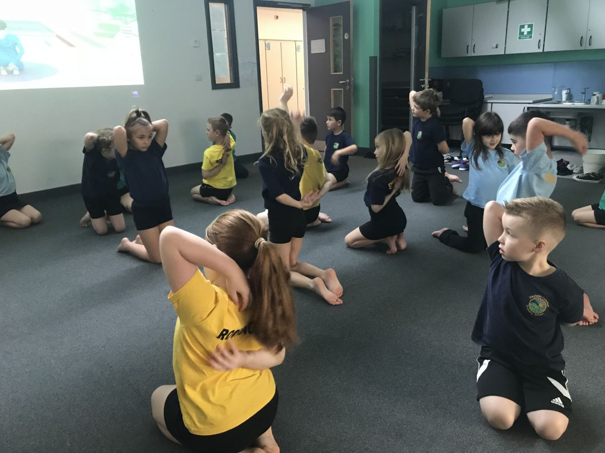 Yoga Time Hoyland Common Primary School Blogsite