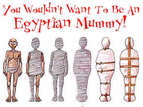 You Wouldn t Want to be an Egyptian Mummy!