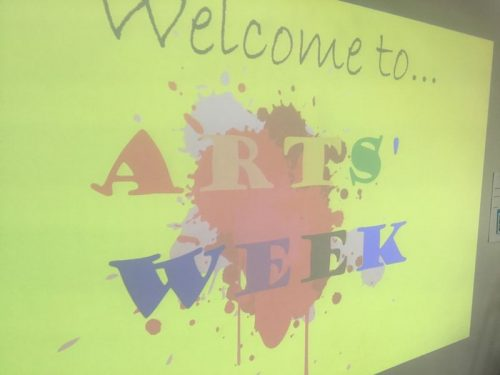 Welcome to Arts Week
